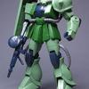 HG 1/144 MS-06J ザクII レビュー