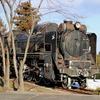 錆びれた機関車