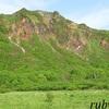 磐梯山。6月中旬。