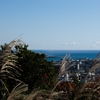 和歌山熊野の神倉神社から見える枯木灘はこんなに穏やかなのに