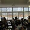 3階の教室にサンシェード