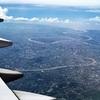 エアアジアAK880(クアラルンプール→ドンムアン)A320-200バンコク市街地を一望