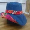 洋裁教室にて帽子を作りました^^