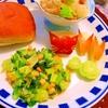 小松菜とコーンのトロ〜りお花畑なチェダーチーズ炒め