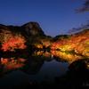 佐賀県 武雄市の御船山楽園の紅葉風景と星空を撮影してきました。