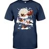 (Official) Dachshund Santa Claus's Reindeer Christmas shirt