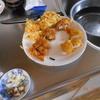 幸運な病のレシピ( 72 ) 冷や麦と天ぷらで血糖値240mg/dl超え