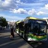 ポーランド ジェロナグラ市内の移動はバスが便利