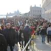 ヴェネツィアの2月の混みっぷり