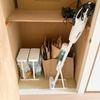 山﨑実業のゴミ袋ホルダー「ルーチェ」が便利。蓋つきでシンプル、いい感じです