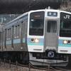 2018.01.20  引退迫る189系М50編成(あずさ色)団体列車を撮影
