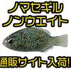 【DUO】人気の釣れるギル型ワーム「ノマセギル ノンウエイト」通販サイト入荷!