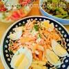 【時短レシピ公開】冷蔵庫の余り野菜をレスキュー!捨てるくらいなら作ってみて!絶妙おいしいにんじんサラダ。