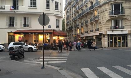 パリでワールドカップの応援!フランス×ベルギー