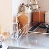 キッチンの水切りかご/無印良品