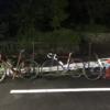【ロードバイク】夜練in宮ヶ瀬ライド_20200907