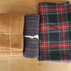 冬支度***check&stripeで冬物のぬの買いました