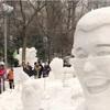 トランプ氏や「PPAP」も…さっぽろ雪まつり