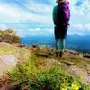 鳥居峠から登る初秋の四阿山