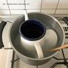 コーヒーポットの汚れを落とす