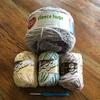 かぎ針編み、編み比べ!