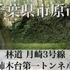 【動画】千葉県市原市 林道 月崎3号線(通行止め)・柿木台第一トンネル