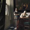 美の巨人たち フェルメール「手紙を書く婦人と召使い」
