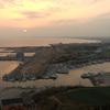 刑部岬の夕陽