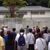 小坂小学校での避難所開設訓練