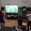 子供たちがディアボロを始めた