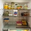 週末朝は冷蔵庫の食べきり