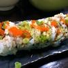 SoiBistroで間違えて注文したソフトシェルクラブのロール… とっても美味しくてアメリカのロール寿司が食べられるようになりました! ペンサコーラ・ビーチ、フォート・ウォルトン・ビーチ…