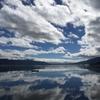 秋晴れの諏訪湖一周走(16km)