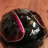 ヘルメット修理