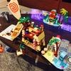 モアナと伝説の海のレゴを作っていました