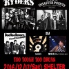 THE RYDERS ☆ THE DISASTER POINTS @ 下北沢シェルター