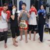 #キックボクシング女子 !!