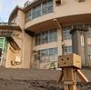 室蘭市 生き残った旧絵鞆小学校の円形校舎
