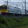 E493系+EF64-1052(無)試運転回送の撮影