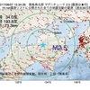 2017年08月07日 15時34分 徳島県北部でM2.5の地震