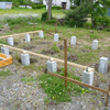 庭に小屋を作ってみた その6 2015.6.7