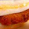 手軽にバリ旨!サンドイッチとLチキのコラボ!
