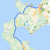 函館⇔札幌車移動最短格安ルート 札幌市手稲区西区北区、石狩市、当別町方面
