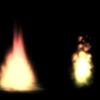 Unity パーティクル(2) 炎のエフェクト 松明風と某悪魔風