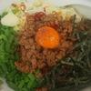 麺や二代目  夜来香     夜来香風辛い台湾まぜそば(太麺) 味付け替玉85g