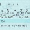 あしずり4号・南風16号 特急券