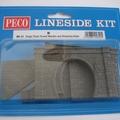 「PECO Nゲージ用 トンネルポータル・プラットホームパーツなど」
