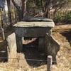 瓢塚41号墳の石室  房総風土記の丘資料館