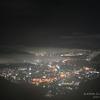 158 霧に 沈む  夜景  (タイムシフト)