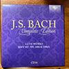 バッハ全集 全部聞いたらバッハ通 CD16 BWV 997,999,1000+1006A リュート組曲